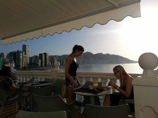 RH Hotel Canfali : The breakfast veranda