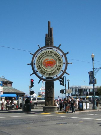 The San Francisco Sightseeing Company: Fishermans Wharf Sign