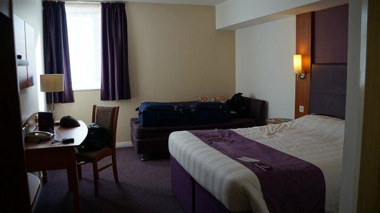 Premier Inn London Greenwich Hotel: Quarto