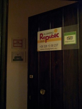 B&B Alghero Republic: Alghero Republic B&B