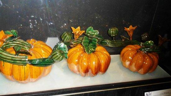 Crazy Cantina's Mixology Tour: Beautiful glass pumpkins