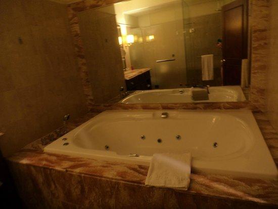 Capital Hotel Dazhi: Banheiro