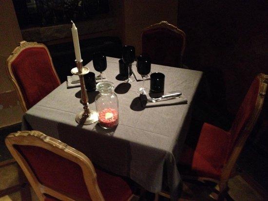 La Gabelletta: Una delle sale per la cena, ottimo menù e prezzi