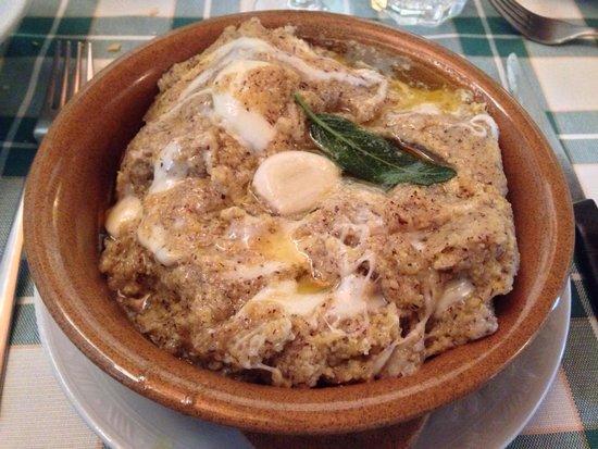 Osteria Antica Molina: Polenta uncia