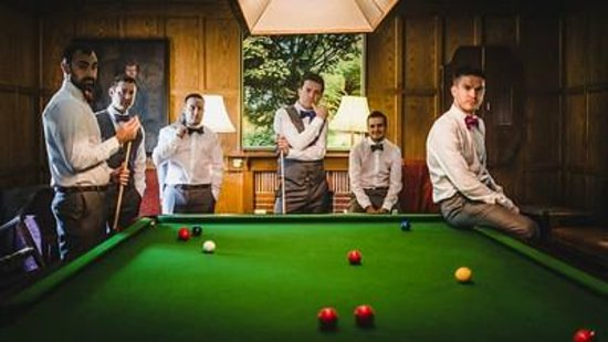 Renvyle House Hotel : Snooker Room