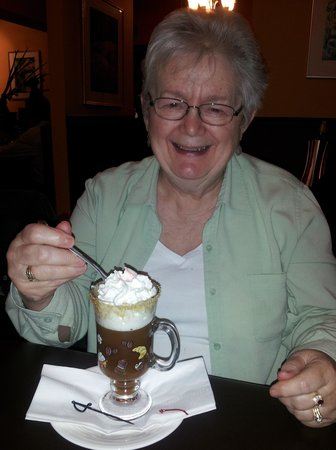 Port Perry, Canada: Aunt Judy at Pickles and Olives