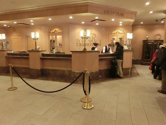 Hotel Palace Royal: カウンター