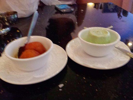 Kohinoor : Gulab jamun and kulfi