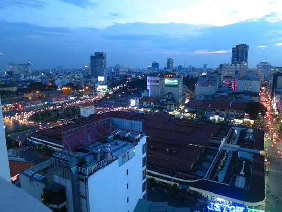 Indochina Pioneer: Ho Chi Minh by night!