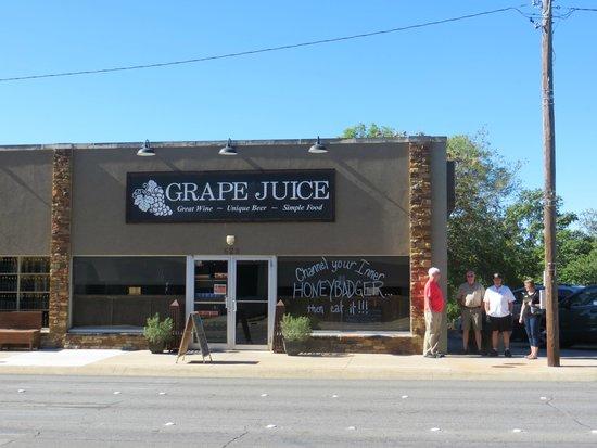 Grape Juice: Exterior