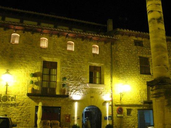 Hotel Villa de Cretas: Fachada