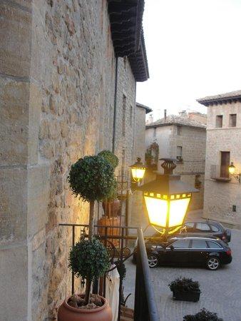 Hotel Villa de Cretas: Desde el balcón de la habitación