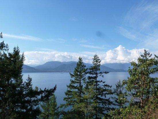 Sea to Sky Highway: Islands in Howe Sound