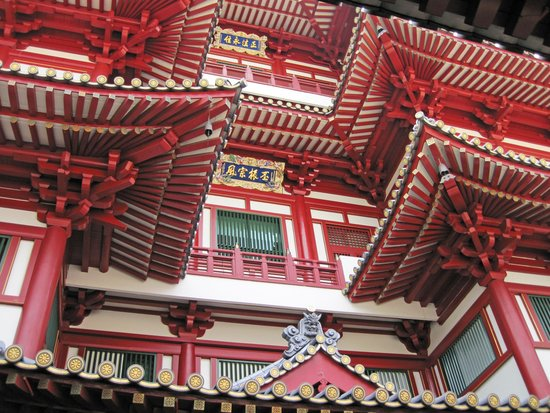 amazing chinese architecture. - picture of buddha tooth relic