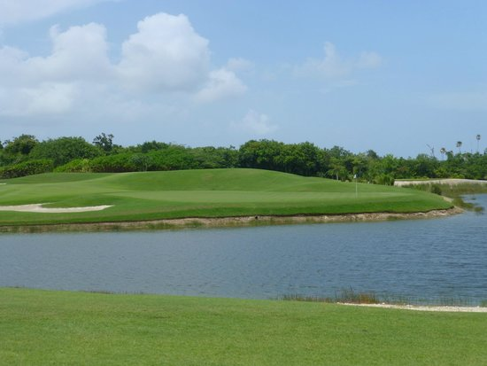 Moon Palace Golf Course: Hole 3 Green
