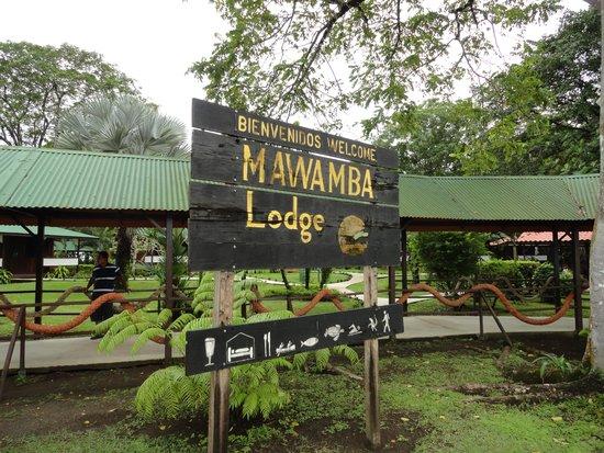Mawamba Lodge : arrivée au lodge