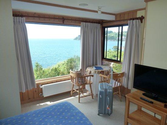 Hotel Elun: Sicht aus dem Zimmer