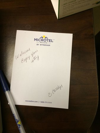 Microtel Inn & Suites by Wyndham Kalamazoo: It's the little things like this that make a difference:)