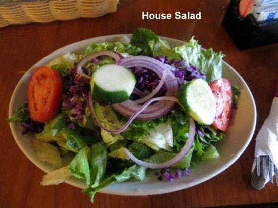 Apollo Flame Bistro - Brevard: House Salad