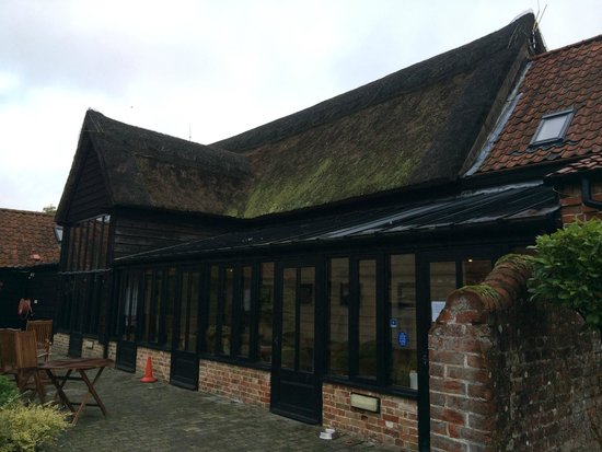 Ivy House Country Hotel: Old barn