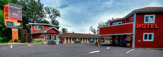 Hotel Motel Le Chateauguay: Section Motel