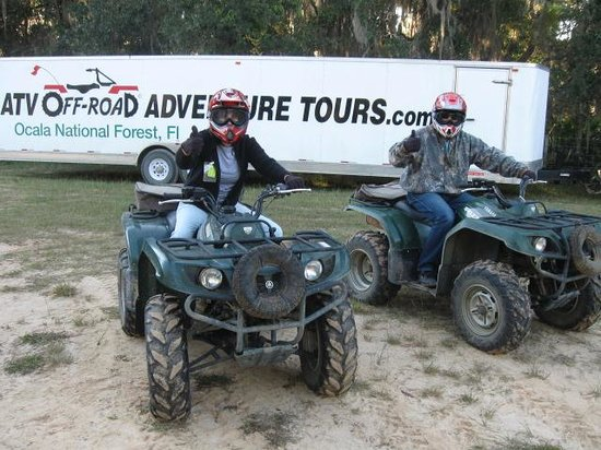 ATV Off-Road Adventure Tours: Before we started on our adventure