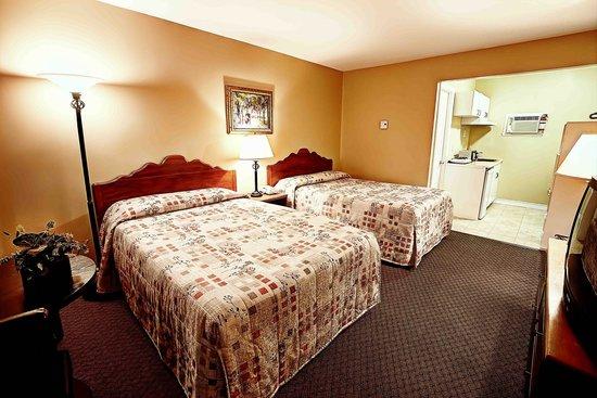 Hôtel Motel Le Châteauguay: Standard 2 lits double