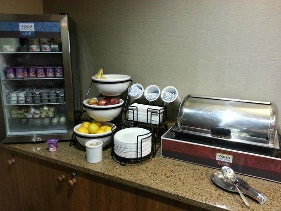 Comfort Inn & Suites Carbondale : breakfast area