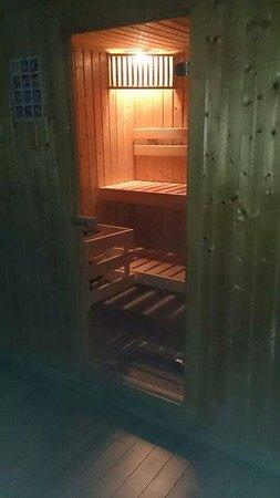 Clos de Glycines: Sauna.....