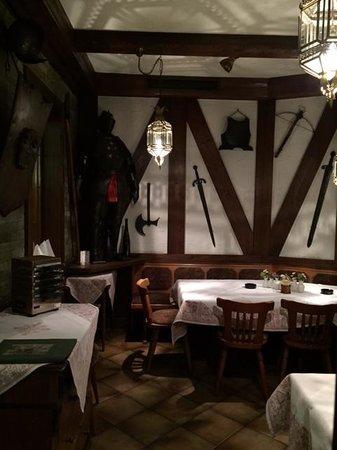 Hotel Restaurant Linde: Ritterstube - quaint