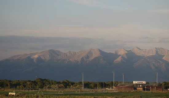 Hampton Inn Alamosa : View from our room