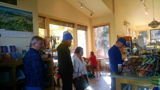 Kind Coffee: The line -- this place is popular