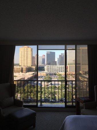 Westin Oaks Houston At The Galleria Balcony From Inside Room