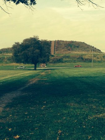 Cahokia Mounds State Historic Site : Long walk