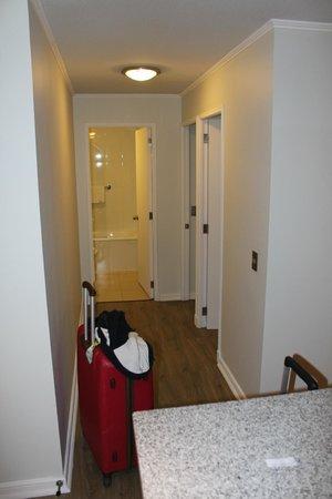 Apart Hotel Providencia: corredor