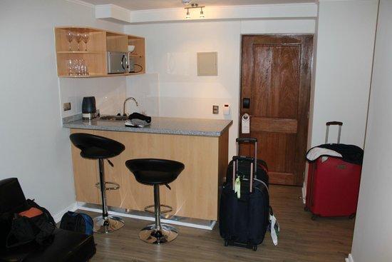 Apart Hotel Providencia: sala