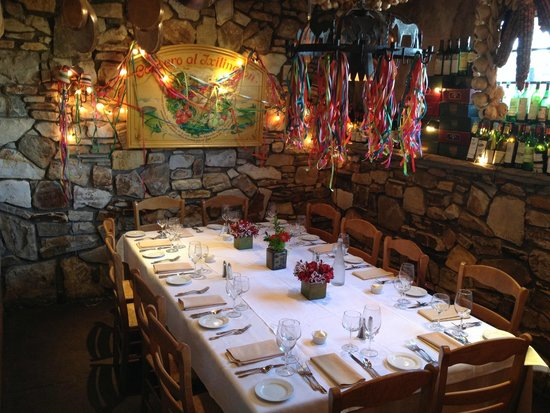 Fandango Restaurant: Wine Room was made Just For Us