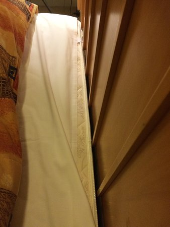 The Grand Apartments: Paper thin wrong fit sheet