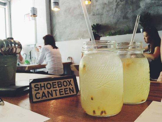 Shoebox Canteen: Home-made lemonade