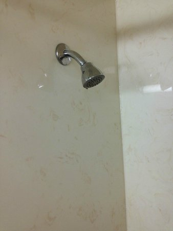 Country Inn & Suites by Radisson, Savannah Airport, GA : Very basic and old shower head with low water pressure