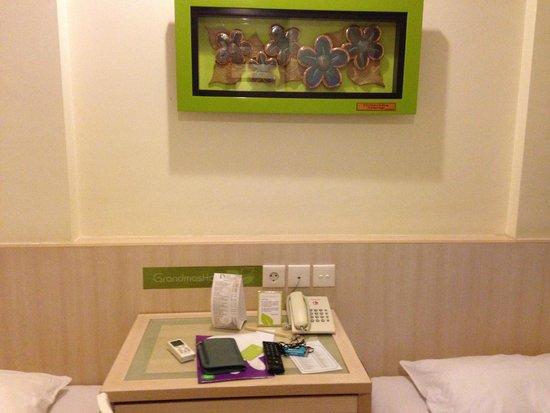 Grandmas Plus Hotel Seminyak: the room