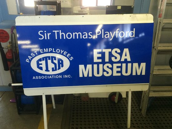 Sir Thomas Playford, ETSA Museum