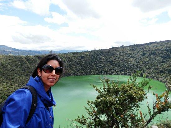 Laguna de Guatavita: Guatavita - Bogota - Colombia