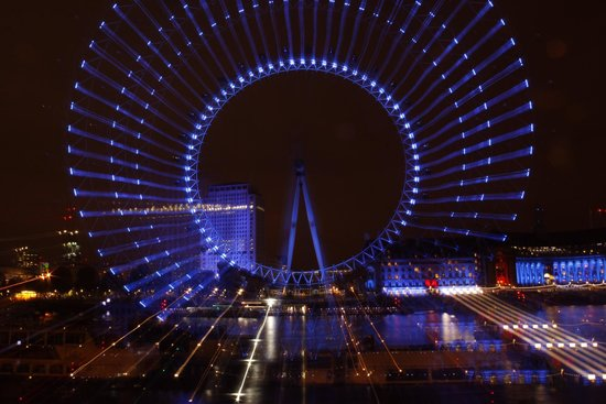 Photography Tours at Night LTD: London Eye in a Spin