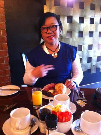 Centurion Lake Hotel : Breakfast moment