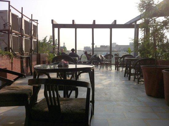 Hotel Shelton: Ресторанчик на крыше