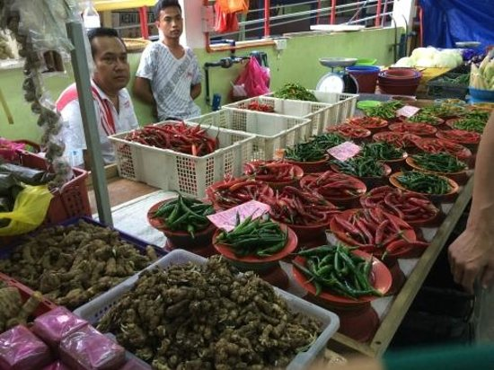 Simply Enak - Food Experiences: Chili vendors at the market