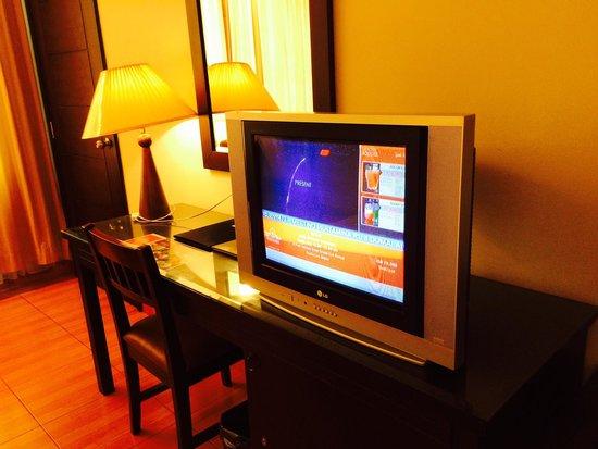 Grand Zuri Dumai: Old TV