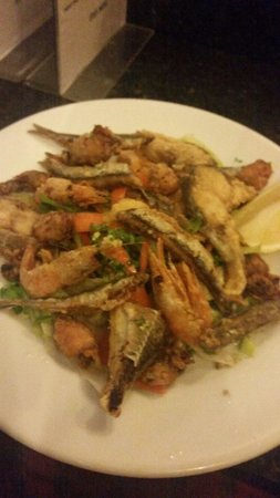 AguaDulce: Fritura selection of fresh fried fish