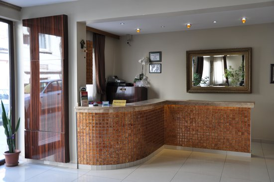 Demirci Hotel: resepsiyon